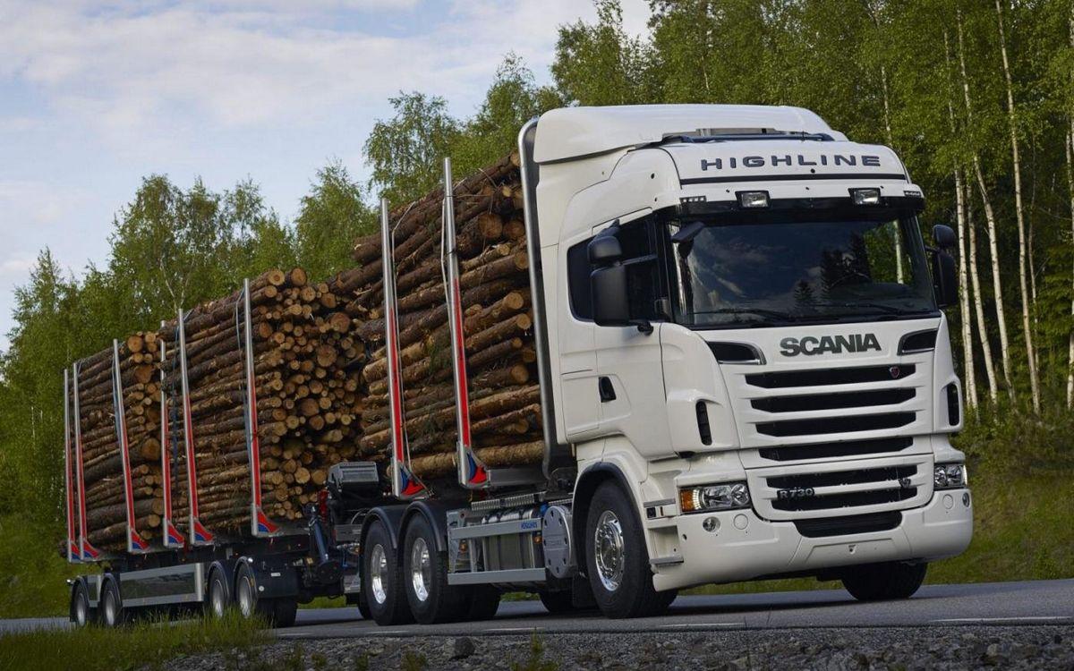Перевозка леса кругляка автотранспортом