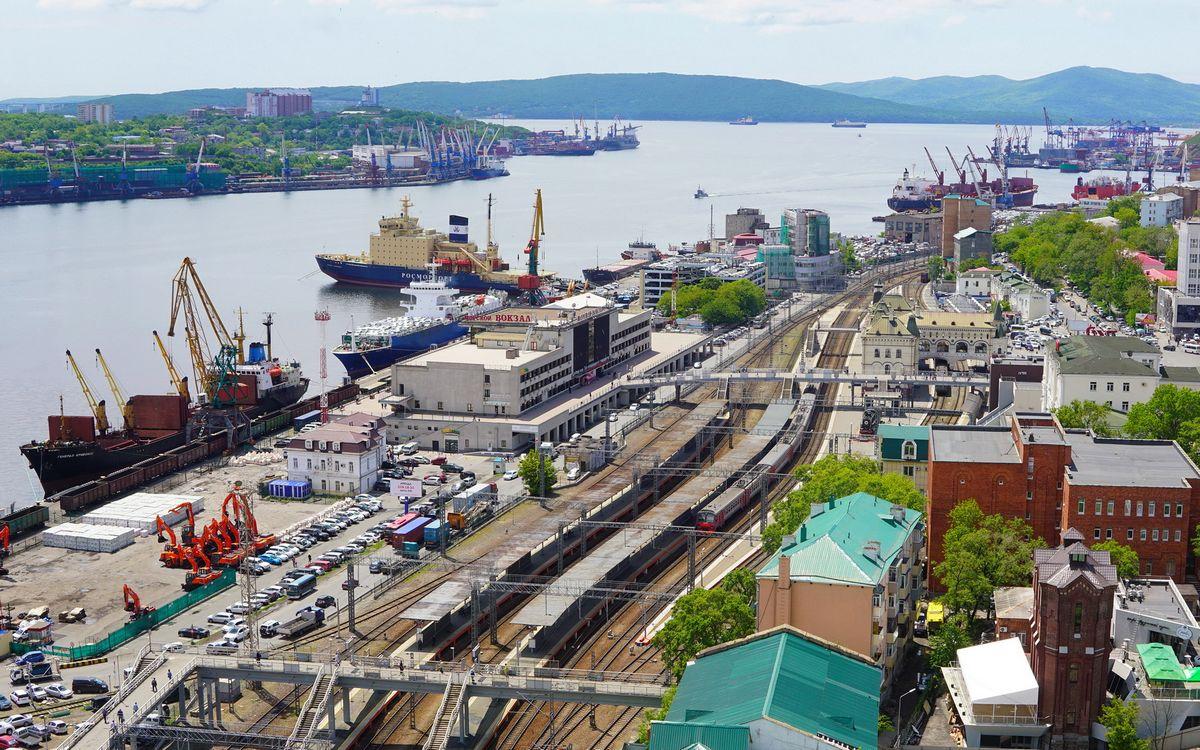 ЖД доставка из порта Владивосток